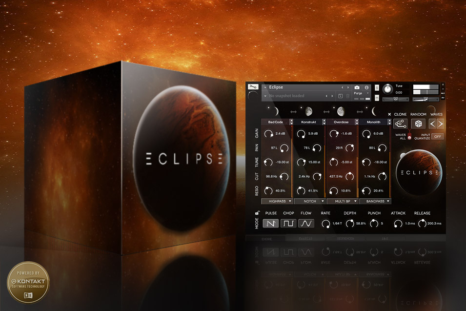 Wide Blue Sound: Cutting-Edge VST, AU, AAX Synth Instruments for Kontakt - image ECLIPSE-Product-Ad-955 on https://widebluesound.com