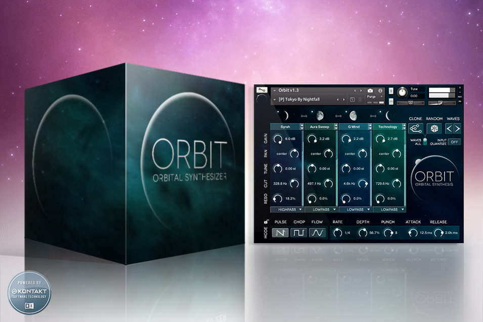 Wide Blue Sound: Cutting-Edge VST, AU, AAX Synth Instruments for Kontakt - image ORBIT-Product-Ad-955 on https://www.widebluesound.com