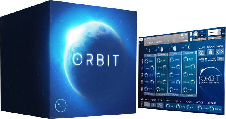 Wide Blue Sound: Cutting-Edge VST, AU, AAX Synth Instruments - image orbit on https://www.widebluesound.com
